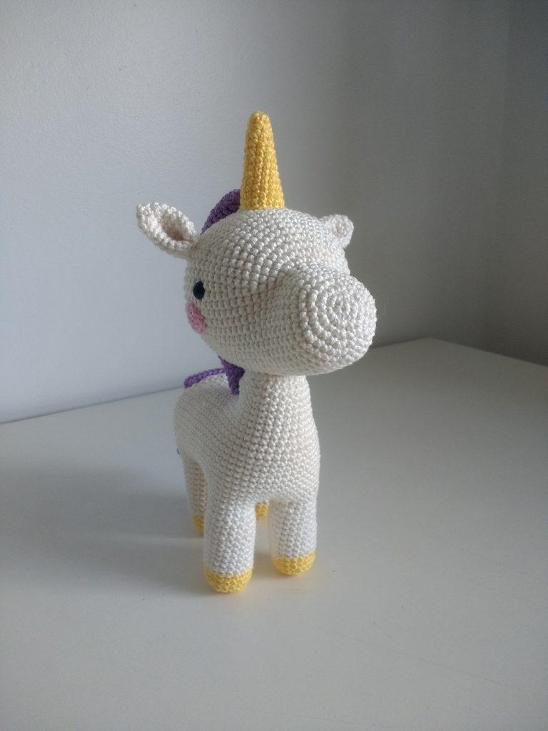 Unicórnio de Crochê - Amigurumi