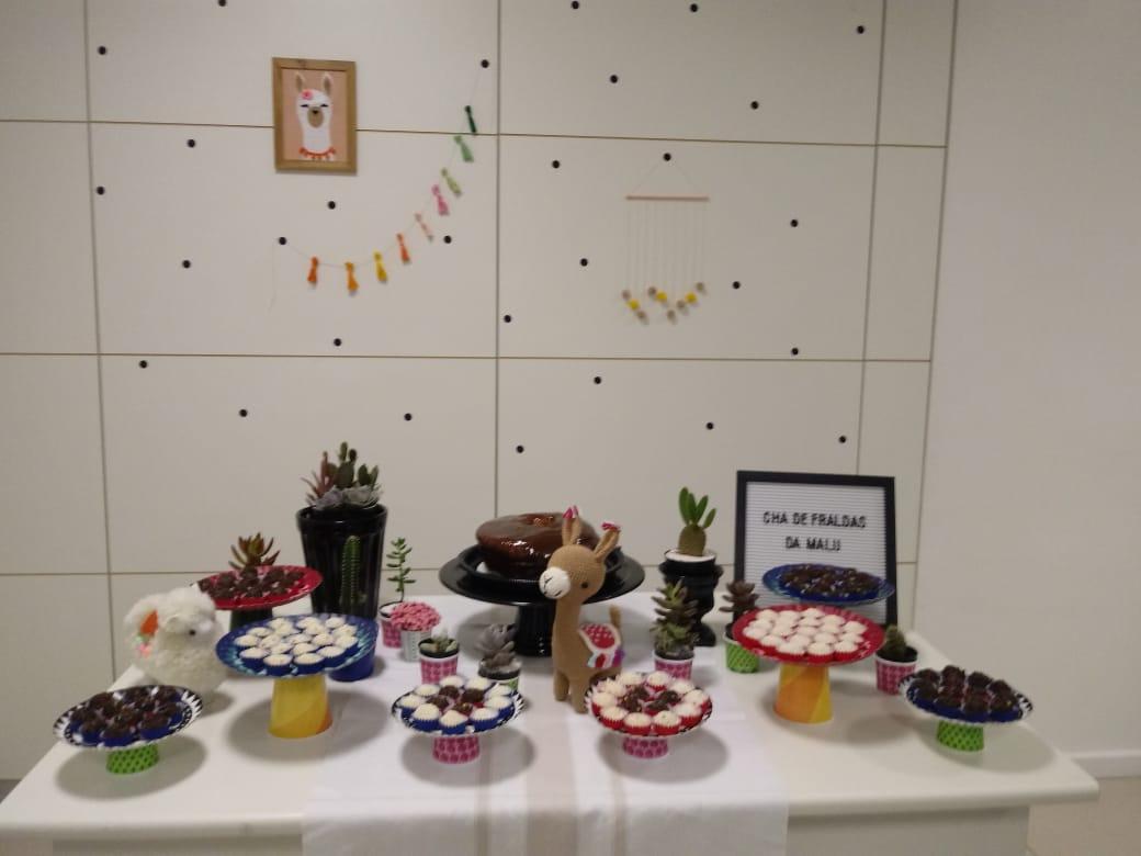 Ideia para decoração de chá de bebê